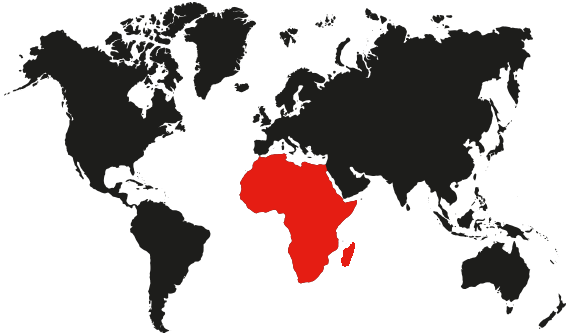 Linsen nambi shipping company map of Africa
